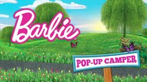 Hit the Road and Camp in Style with the Barbie Pop-Up Camper! | Barbie