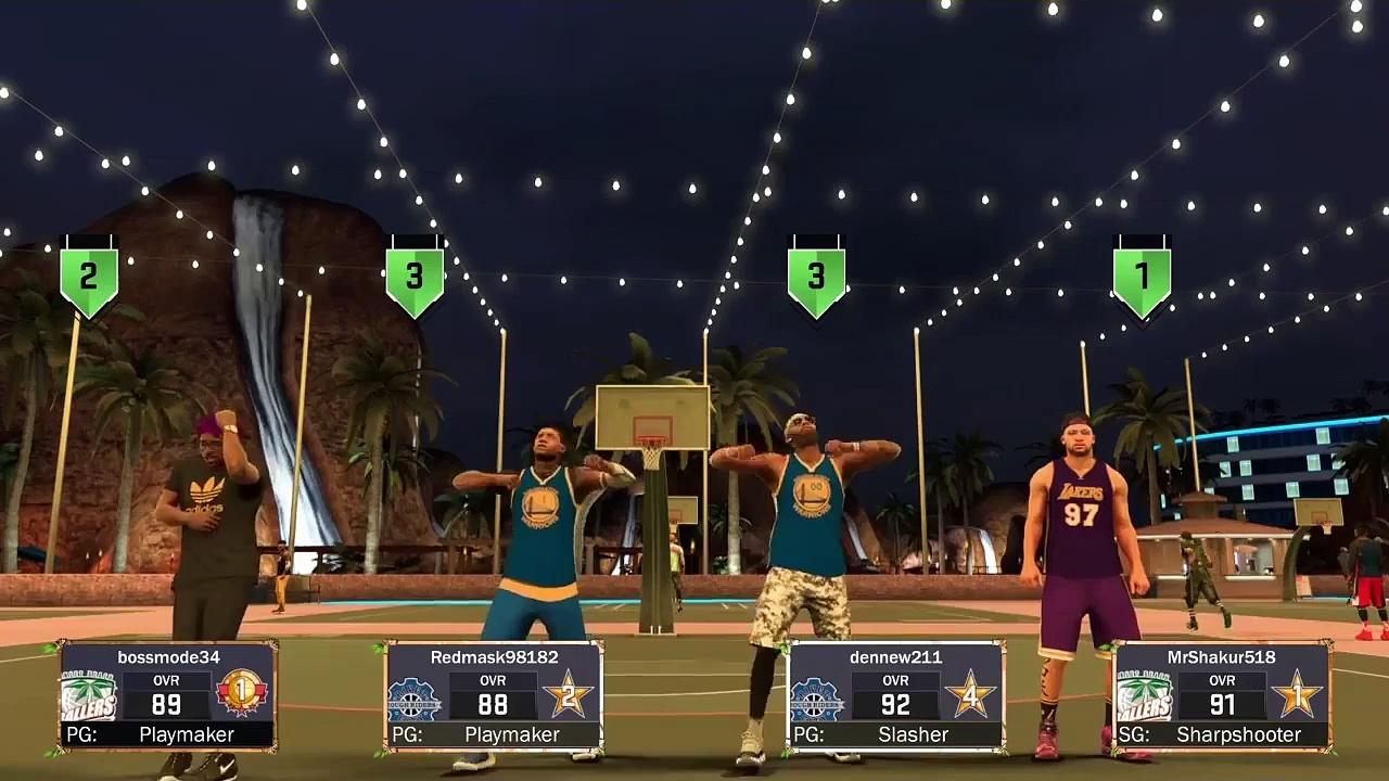 NBA 2K17- MYPARK HIGHLIGHTS!!!!!