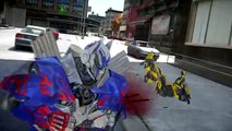 OPTIMUS PRIME vs STINGER - Transformers EPIC Battle 變形金剛
