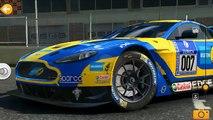 Real Racing 3: - Gameplay Aston Martin Vantage GT3 Silverstone