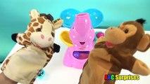 Пеппа свинья поездка карусель игра Узнайте цвета для Дети детей младшего возраста азбука сюрпризы Игрушки