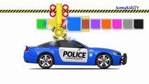 Voiture enfants les couleurs pour Apprendre apprentissage rue camions Véhicules vidéo avec |