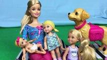 Bain sale chien poupée pour drôle filles enfant parodie pot entraînement vidéos avec Barbie chelsea s
