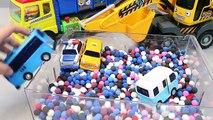 Déverser jouer jouets un camion jouets machines dessins animés pro Saison Get dans le camion chariots élévateurs jouets doh points