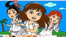 Dora and Friends disegni da colorare per bambini Video divertenti ed educativi