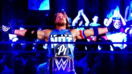 AJ Styles vs. Dean Ambrose vs. John Cena- No Mercy
