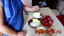 Manzana tarta de manzana receta de pastel de vídeo con los secretos de cómo cocinar una deliciosa manzana piro
