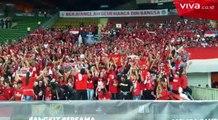 Insiden Petasan Meledak Lukai pemain Timnas Indonesia