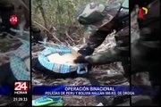 Policía peruana y boliviana se unieron en operativo binacional antidrogas