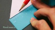 Facile papier flocon de neige tutoriel 3d origami