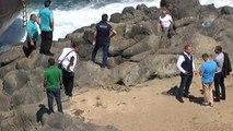 Sarıyer Kilyos Açıklarında Yük Gemisi Ortadan İkiye Ayrıldı