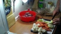 Muslos de pollo al horno con verduras simplemente deliciosos barata
