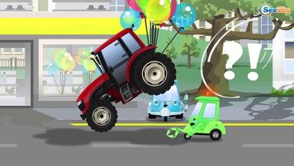 Nuevo TRACTOR y Constructor Maquina - Grande Aventura para niños, Videos para niños