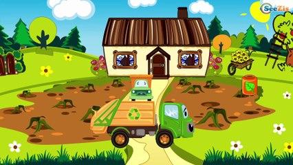 El regreso de Camión :) - la Grúa en Car City | Dibujos animados para niñas y niños