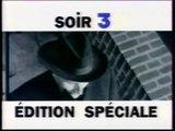 """France 3 - 8 Janvier 1996 - Publicités + Bandes annonces + Météo + Début """"Soir 3 - Edition Spéciale"""""""