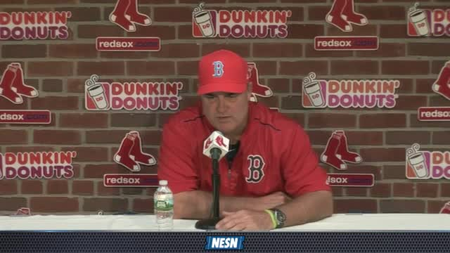 Red Sox Gameday Live: John Farrell Gives Update On Jackie Bradley, Dustin Pedroia