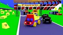 Tous les pour et dessins animés dessins animés en rang série développement amis thème camion enfants, etc.