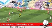Compacto de Iván Bulos vs. Desportivo Aves