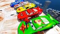 Et des voitures enfants les couleurs pour foudre garderie rimes chansons homme araignée Disney pixar mcqueen w