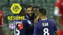 Toulouse FC - Stade Rennais FC (3-2)  - Résumé - (TFC-SRFC) / 2017-18