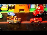 Pixar Cars 3 Lightning McQueen Nightmares with Doc Hudson Mater and Sheriff