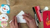 Easy Christmas Tree Bookmark Corner - Paper Crafts DIY - Easy Christmas DIYs