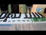 ضبط 14 سلاح ناري بحوزة خلية ارهابية بكفر الشيخ