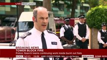 London Fire - Police - 58 people were in Grenfell Tower that are missing - BBC News-WpNrgOvb67c
