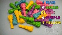 Apprendre couleurs avec Pâques lapins et Pâques lapins amusement apprentissage concours