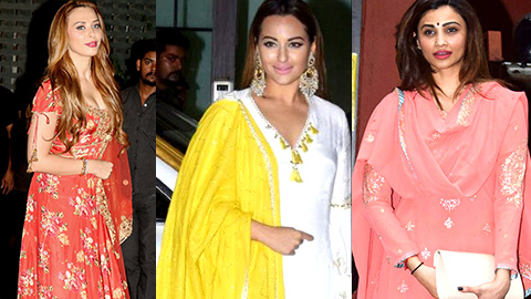 Many Celebs At Salman Khan's Sister Arpita Khan's Ganpati Celebrations 2017