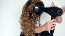How to Blow Dry Curly Hair | Salon Hair Tutorial