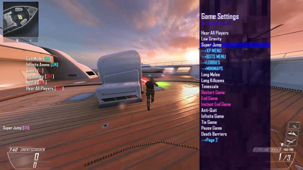 Black Ops 2 Jiggy v4 3 PC Version Mod Menu and Source + Free Download