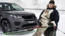 VÍDEO: Un Land Rover Discovery Sport contra un trineo tirado por perros