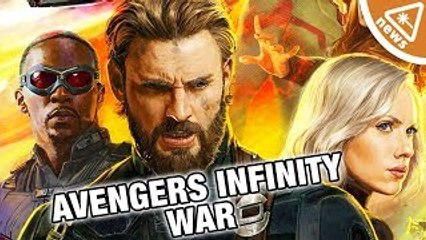 What Secrets Are in the Avengers Infinity War Poster? (Nerdist News w/ Jessica Chobot)