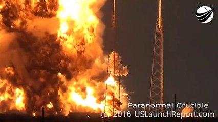 ufo 攻撃 UFO Destroys SpaceX Rocket On Launch Pad