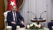 Başbakan Yardımcısı Akdağ, KKTC Başbakanı Özgürgün ile Bir Araya Geldi- KKTC Başbakanı Hüseyin...