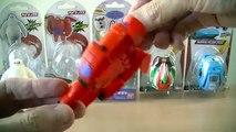 Des voitures Oeuf foudre rouge shérif étoiles Disney pixar mcqueen bandai fory