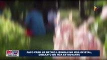 Paco Park na dating libingan ng mga opisyal, dinarayo ng mga estudyante