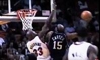 Les 10 plus beaux dunks de Vince Carter en carrière