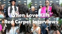 "HHV Exclusive: ""When Love Kills"" red carpet interviews with Tasha Smith, Lance Gross, Lil' Mama, Tiffany ""New York"" Pollard, and Ferrari"