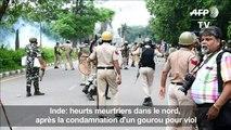 Inde: heurts meurtriers après la condamnation d'un gourou