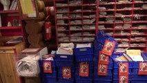 Noël père Finlande dans Laponie rencontrer Village du Père Noël 4k rovaniemi