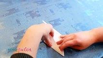 De comme Grue Origami bonheur plié grue de papier