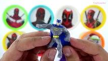 Boîtes des œufs merveilles Nouveau patrouille patte jouer jouet avec Deadpool doh surprise minecraft hd ❤❤
