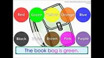 Colores colores Inglés como lengua extranjera Inglés juego Niños Aprender aprendizaje enseñar el Color esl kindergarte