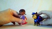 Enfants des œufs pour heure enfants patrouille patte pâte à modeler les tout-petits jouet 1 doc mcstuffins surprise