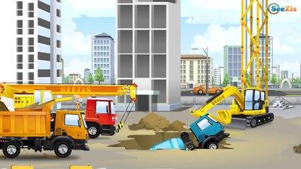 Nuevo Carritos para niños - Camión - Excavadora - Grúa - Construcción de vehículos