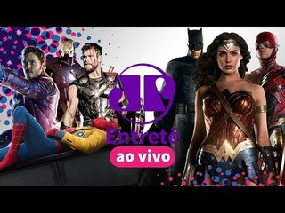 Destaques da Comic Con 2017: Liga da Justiça, Vingadores e Supernatural