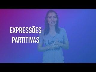 Pergunte para Cíntia Chagas #20 - O que são expressões partitivas?