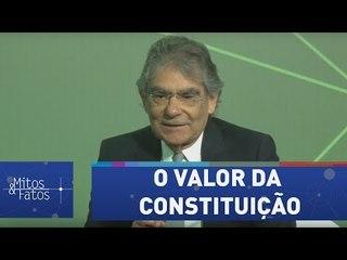 """Ayres Britto reforça o valor da Constituição: """"fortaleceu as instituições brasileiras"""""""
